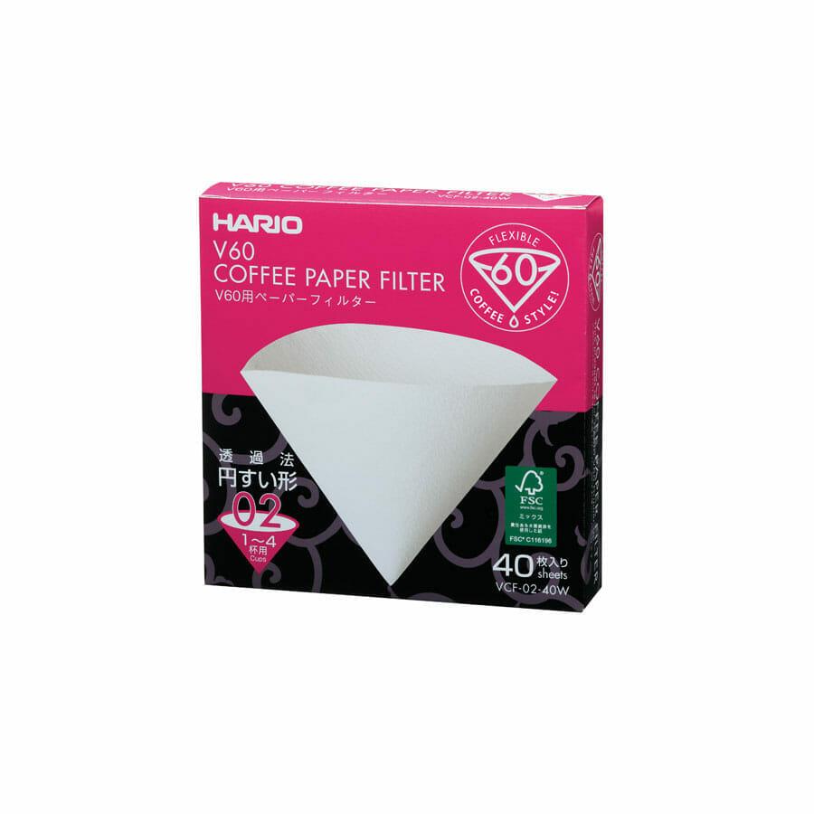 Caja filtros V60